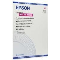 """Epson C13S041079 Фотобумага для плоттера матовая Photo Quality Ink Jet Paper, лист A2 17""""x24"""" 420 мм x 0.594 м, 102 г/м2, чернила водораство"""