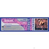 "Lomond 1208013 Самоклеющийся винил для плоттера матовый XL Vinyl White Self-Adhesive Film белая, рулон A0+ 42"" 1067 мм x 20 м, 170"