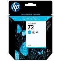 HP C9398A Картридж 72 синий для Designjet T1100, T1120, T1120ps, T1200, T610, T620, T770, T795 Cyan 69 мл.
